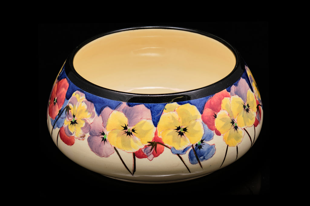 "Royal Doulton ""Pansy Series"" Bowl."