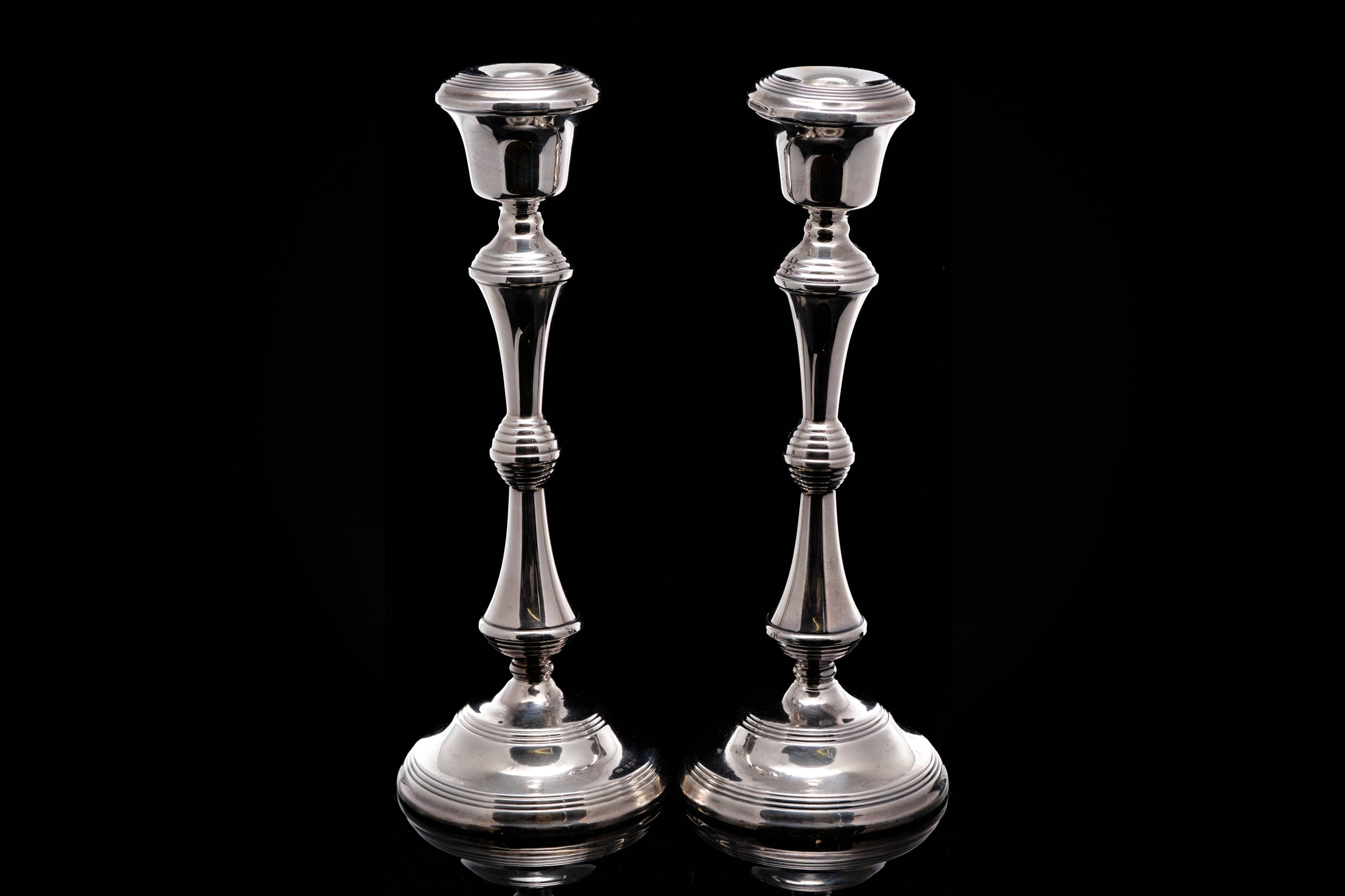 C1970 Sterling Silver Candlesticks.