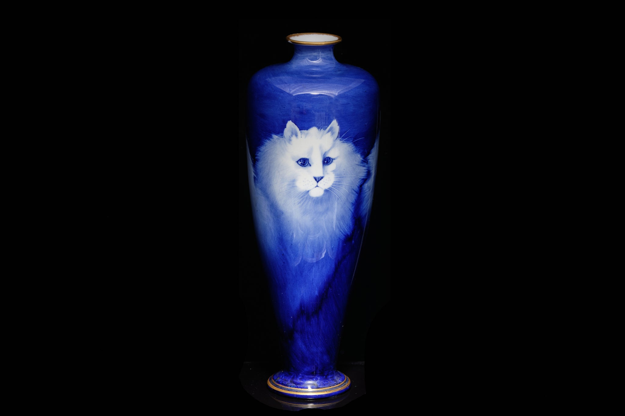 Royal Winton Handpainted Vase.