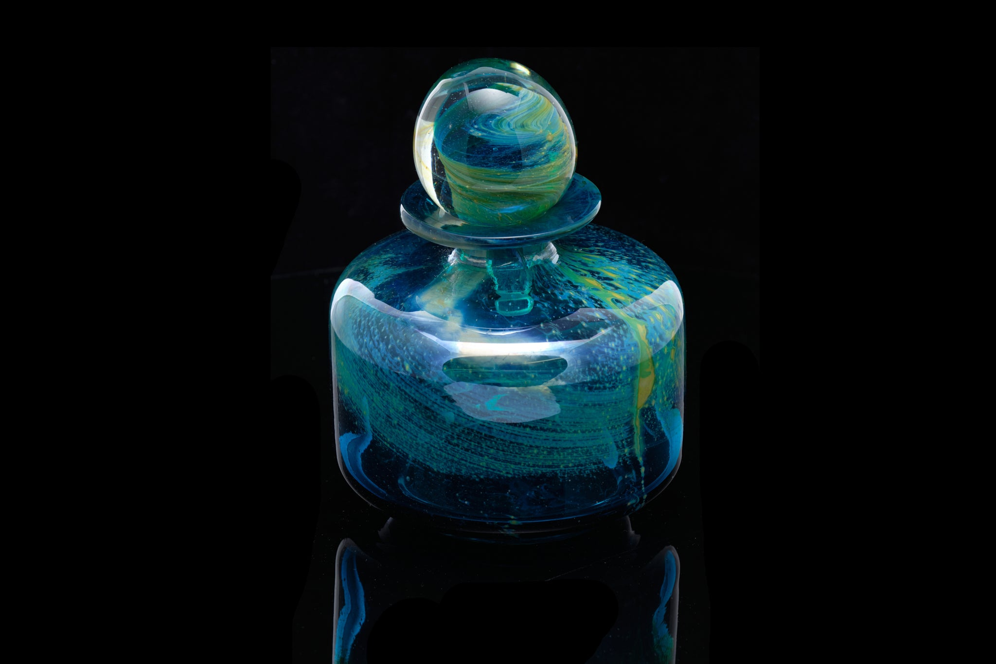 Retro Mdina Art Glass.