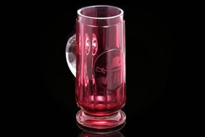 Victorian Ruby Glass Tankard.