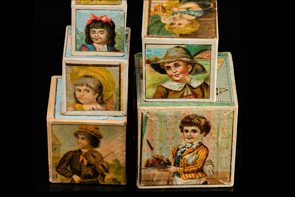 Victorian Childs Large Blocks.