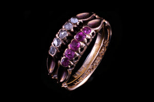 Edwardian Rubies and Spinel Ring.