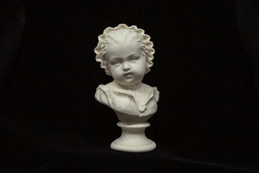 Parian Bust of a Young Child