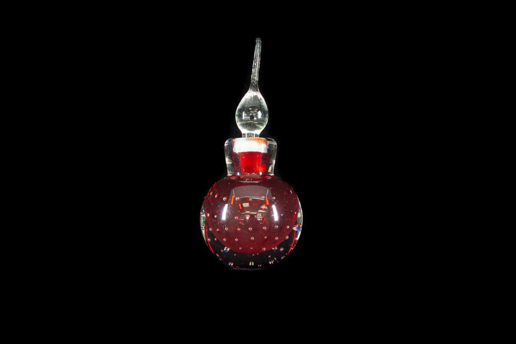 Italian Studio Art Glass Perfume Bottle
