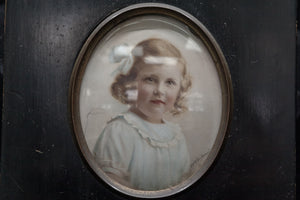 Hand Painted Miniature of a Young Girl