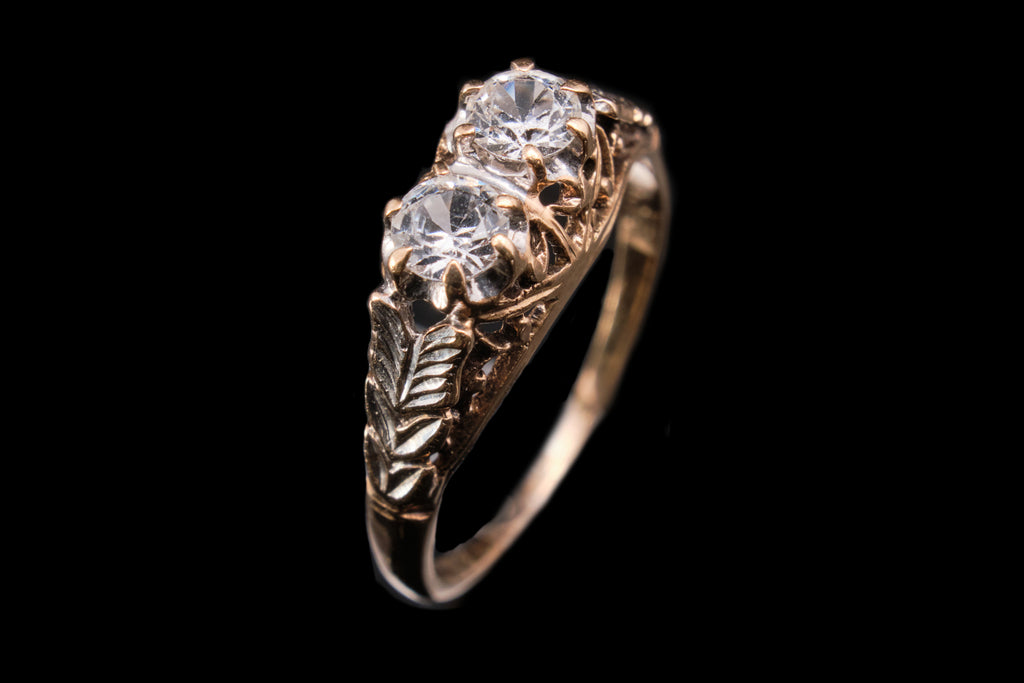 Edwardian Gold and Spinel Ring.