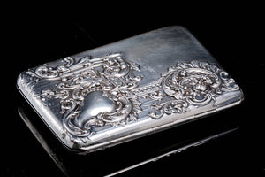 A Victorian Sterling Silver Ladies Purse.