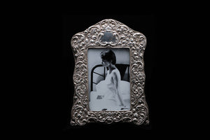 Victorian Sterling Silver Photo Frame.