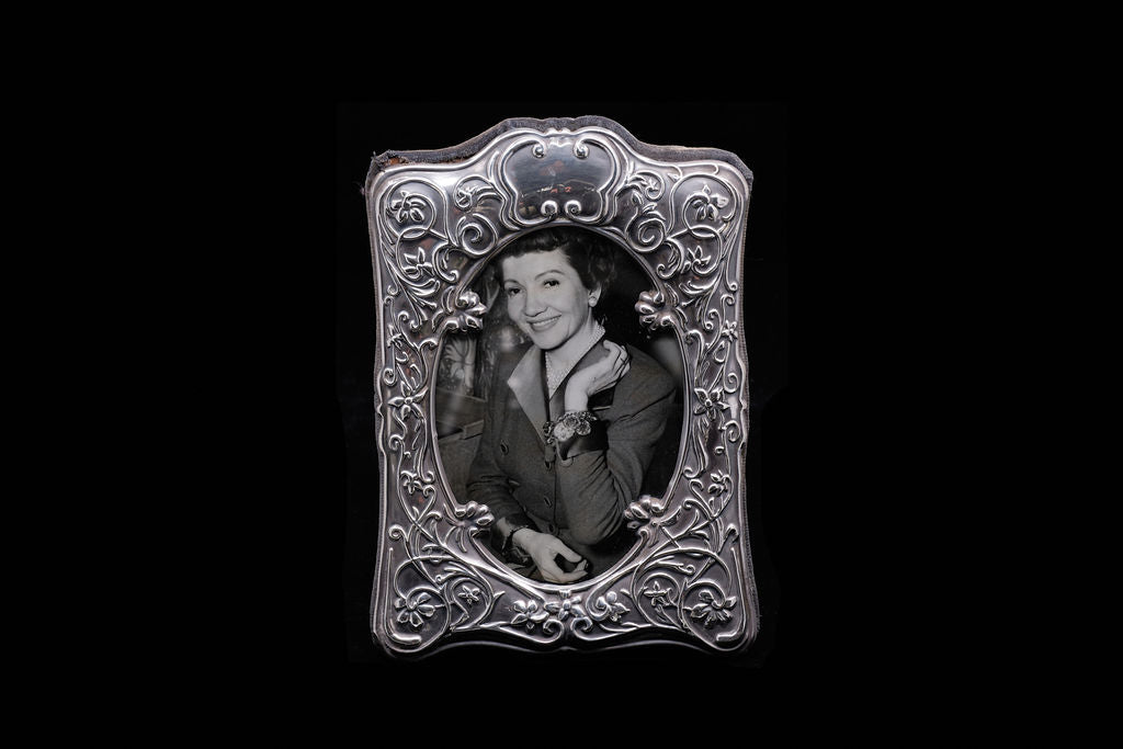 Vintage Sterling Silver Photo Frame.