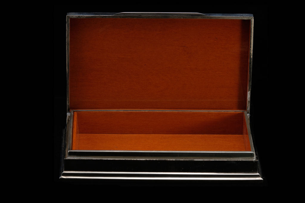 Mid Century Sterling Silver Box.