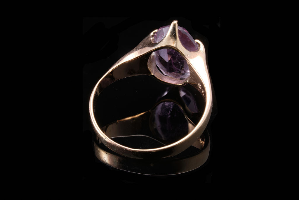 Vintage Gold and Amethyst Ring.