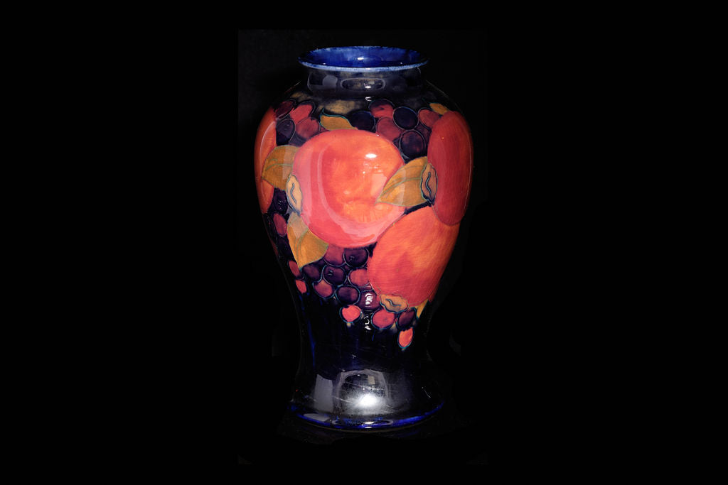 William Moorcroft 'Pomegranite'Pattern Vase. SOLD