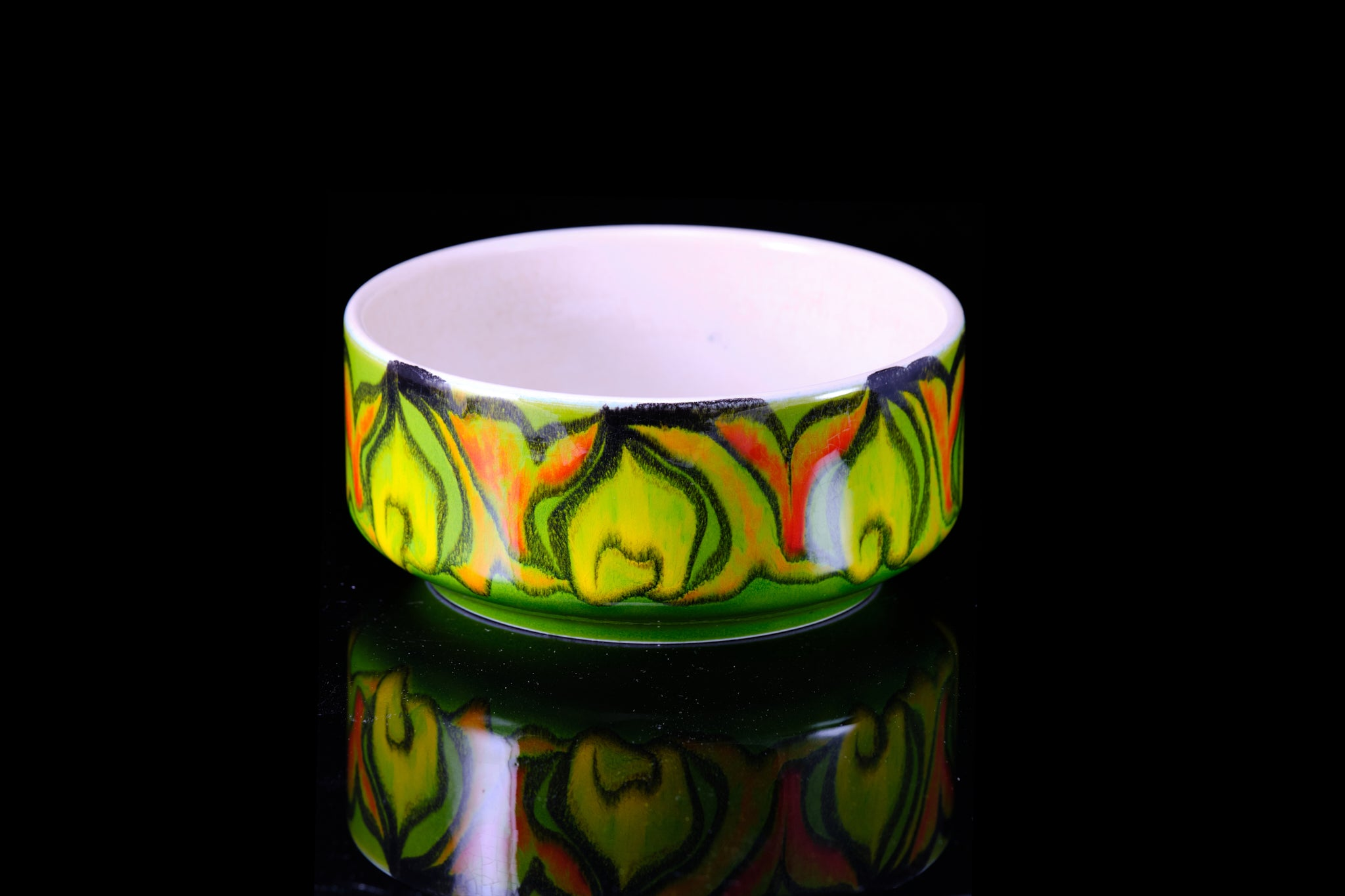 "Poole Pottery from the ""Delphis"" range."