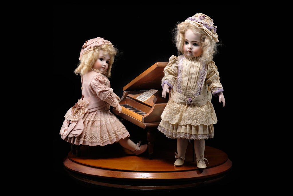 Tableaux of Dolls at the Piano. SOLD