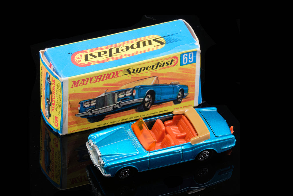 "Matchbox ""Rolls Royce"" Silver Shadow in Box."