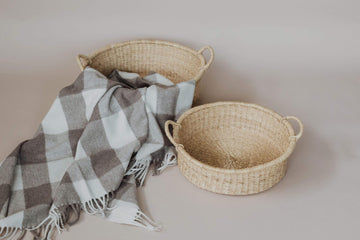 Anupaya Basket WOVEN GARDEN BASKETS / SET OF TWO