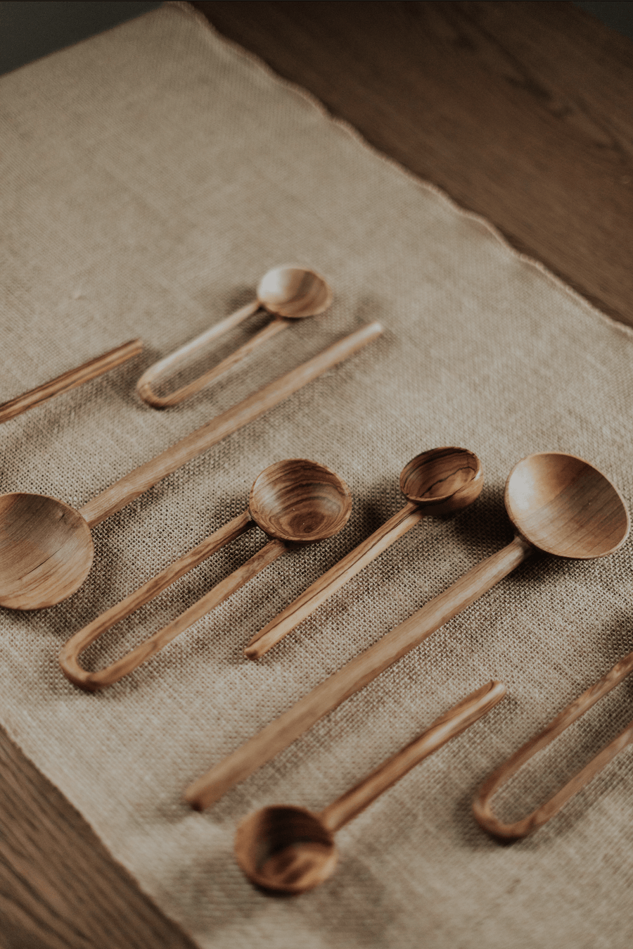 Anupaya LOOP SPOONS | SET OF 3