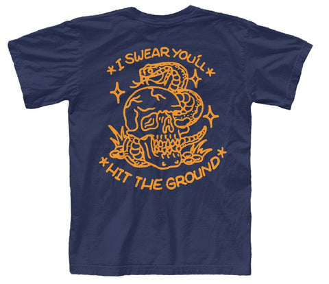Hit The Ground T-Shirt (Navy)