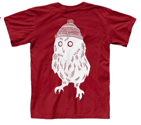 Owl T-Shirt (Red)