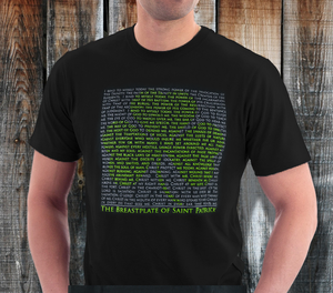 """Breastplate of Saint Patrick"" Mens Shirt"