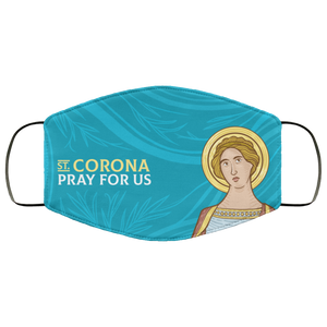 Saint Corona Face Mask