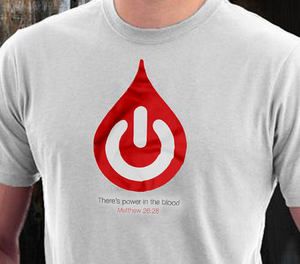 """Power In The Blood"" Mens Shirt"