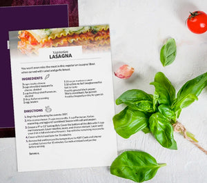 Lenten Recipe Cards