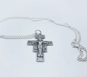San Damiano Cross Pendant & Chain