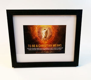 Christ the King Framed Print