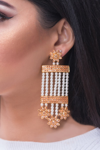 MOTI Antique Earrings