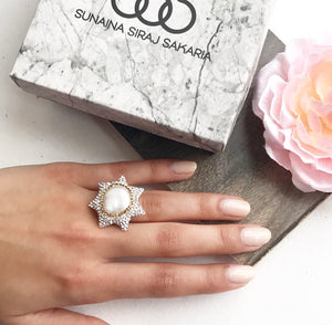 PEARL STAR RING