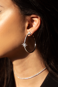 LEILA Hoop Earrings