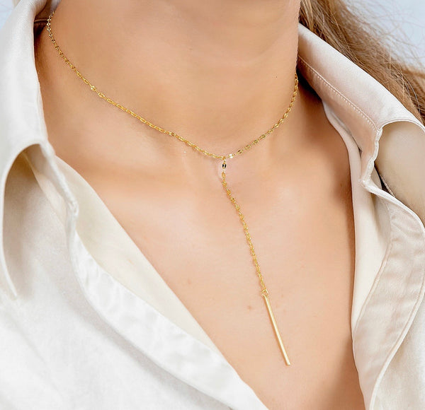 TIA Lariat Necklace