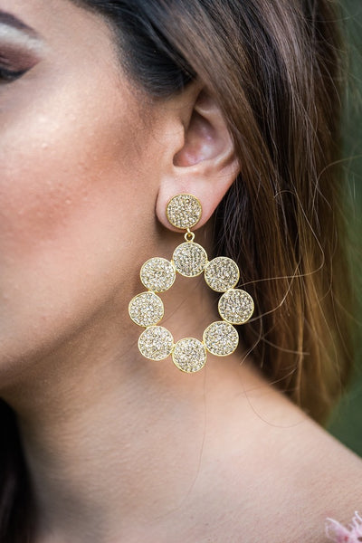 ELISA Gold Earrings