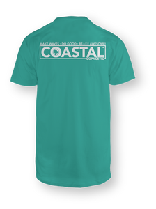 Seafoam Short-Sleeve Awesome Pocket T-Shirt