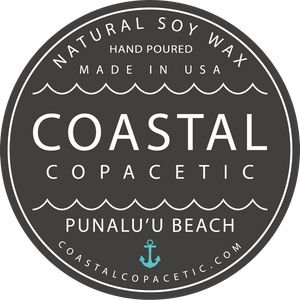 Punaluʻu Beach - Natural Soy Wax Candle Travel Tin