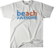 BEach Awesome™ Sugar White T-Shirt (American Pima Cotton)