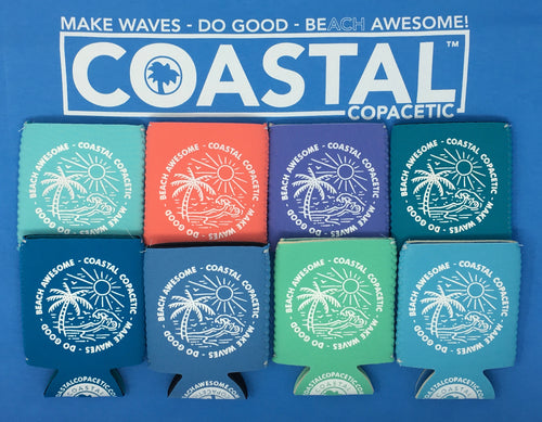 Coastal Coozie - 8 Pack Special (1 of each color)