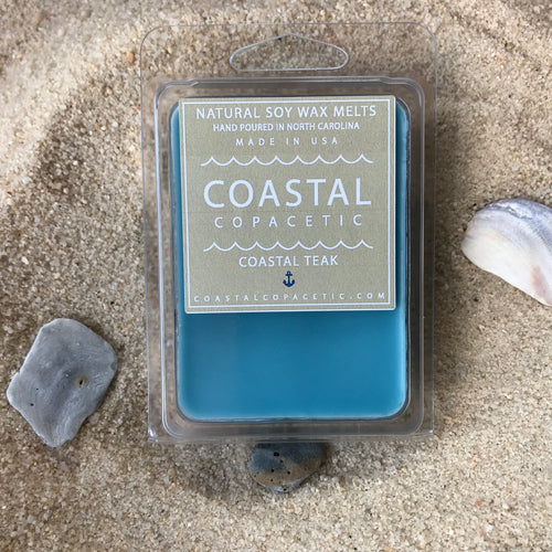 Coastal Teak - Natural Soy Wax Melts