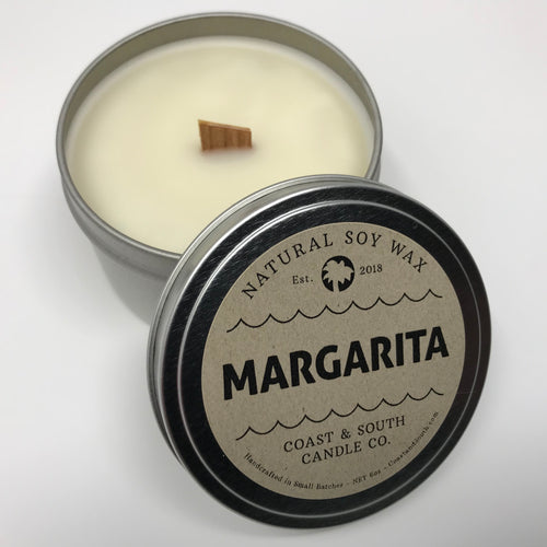 Margarita - Wood Wick Soy Wax Candle