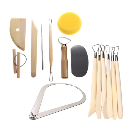 Set of 15 Pottery Tools Starter Kit (#15A)