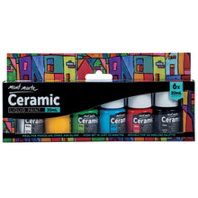 Load image into Gallery viewer, Mont Marte Ceramic Paint Set with 6 Colours