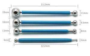 Set of 4 Ball Sphere Stylus Sculpting Tools