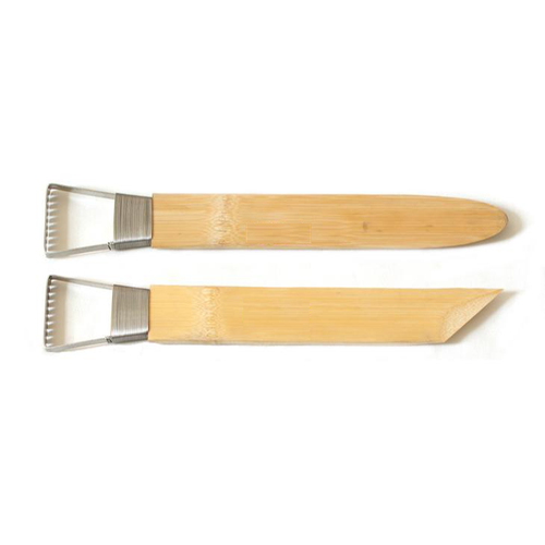 Set of 2 Large Bamboo Loop Tools
