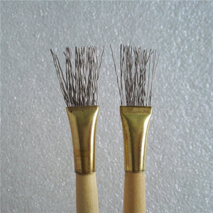 Set of 2 Thick/Thin Wire Texture Brushes