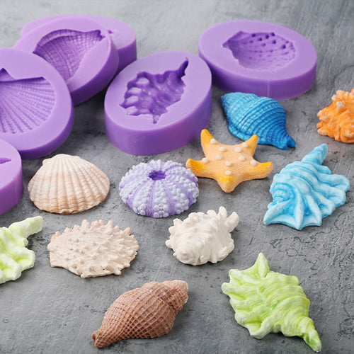 Silicone Mould - Under the Sea (8 Styles)