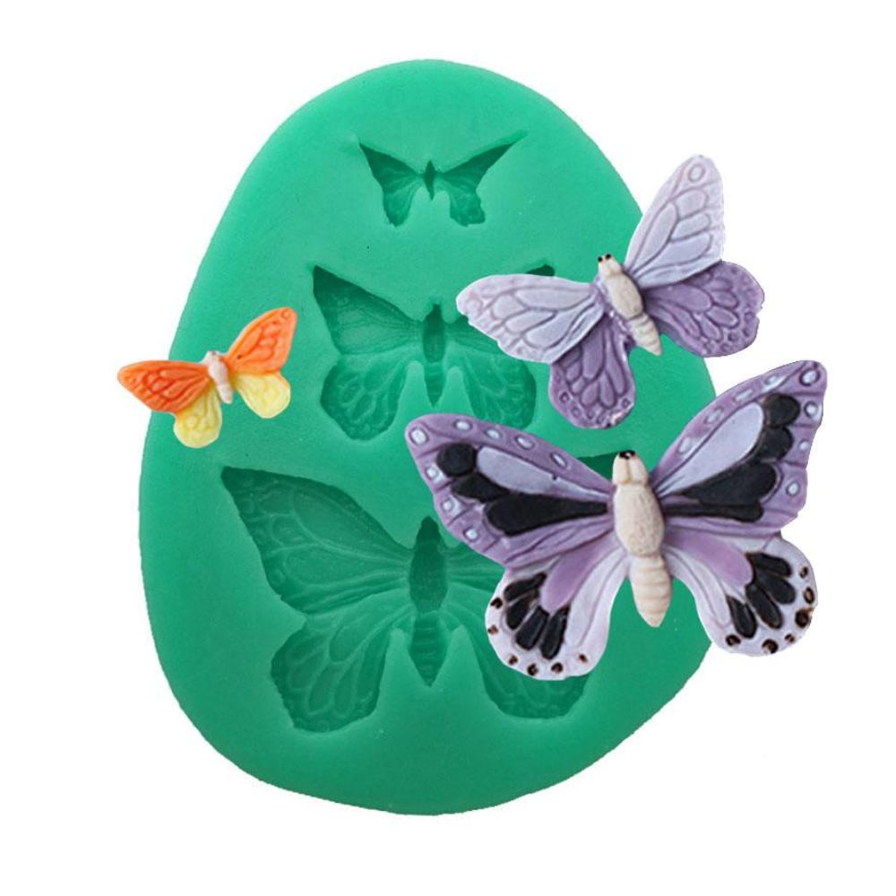Silicone Mould - Three Butterflies