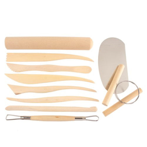 Set of 10 Pottery Tools Starter Kit (B)