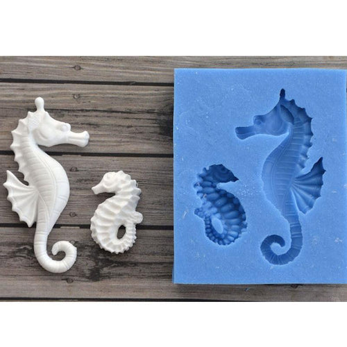 Silicone Mould - Seahorses